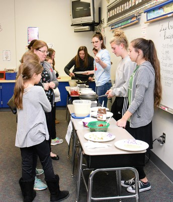 School Groups Help Make the Events a Success!