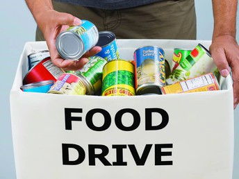 Food Drive Started This Week