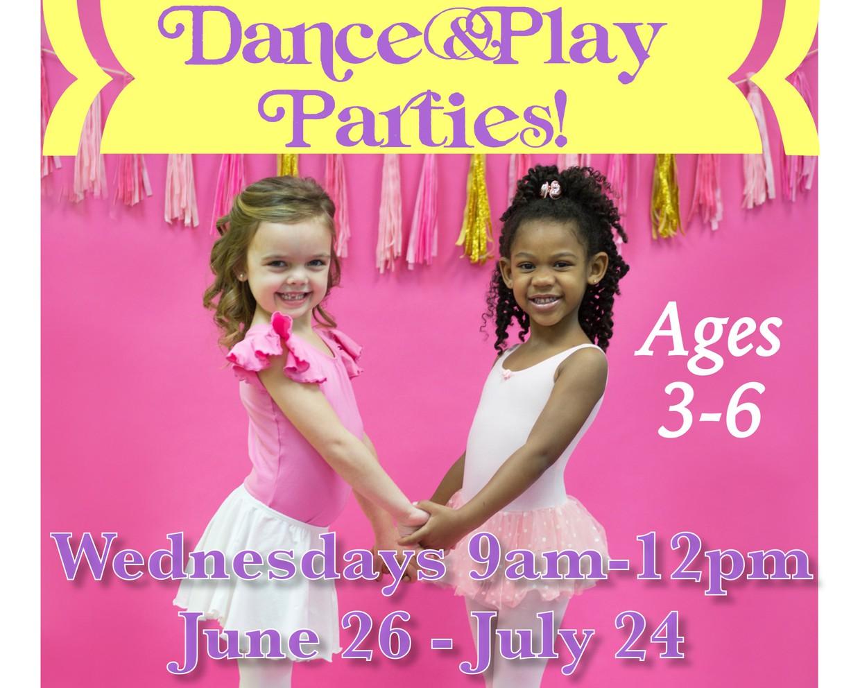 DANCING, TUMBLING, CRAFTS & GAMES!