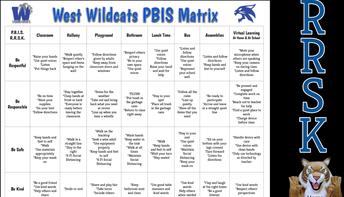 West PBIS Matrix