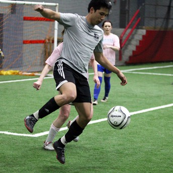 Join the new men's open soccer league at the best facility in town.