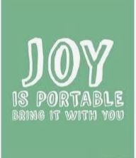 Core Virtue of the Month: Joy