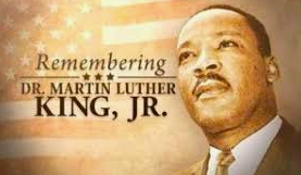 January 18: Martin Luther King Jr. Day