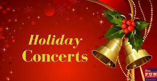 Upcoming Holiday Concerts