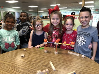 They worked SO HARD on this task! Notice the pride!