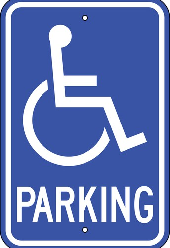 RE: Handicap Parking Spaces