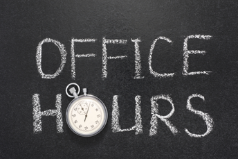 Grant Office Summer Hours