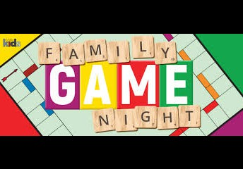Family Game Night RESCHEDULED