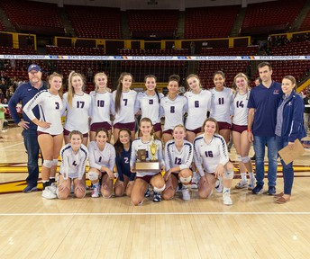 Perry High Girls Volleyball 6A State Runner Up