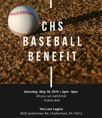 CHS Baseball Benefit