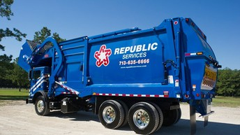 Special request from Republic Services regarding trash pick up
