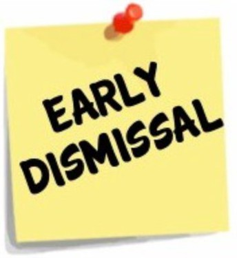Early Release Day on Wednesday, November 20