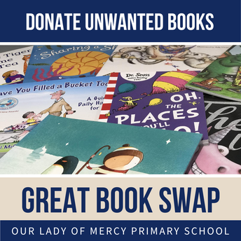 Great Book Swap - donate books by Fri 28 August