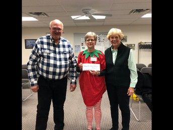 Donation for Miss Mary Strawberry's Program