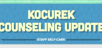 Self-Care Newsletter from Kocurek Counselor, Angela Vera