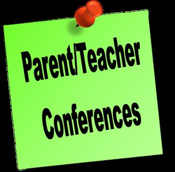 October Parent Teacher Conferences October 19-23