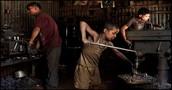 2013, Child Working in machinist shop