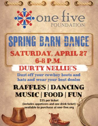 one-five Foundation Spring Barn Dance