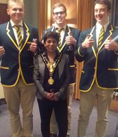 Mayor's Reception for Borough Rowers