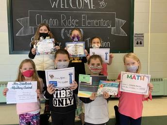 Second Grade January Awards