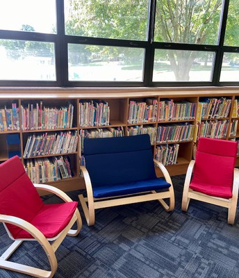 New Library Furniture!