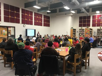 Planning and Paying for College Event at the High School