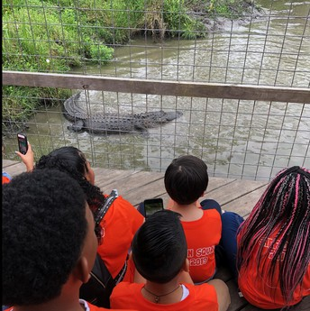 5th Grade Crocodile Encounters