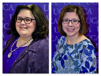 Dr. Amy Thompson and Dr. Stefanie Sorbet
