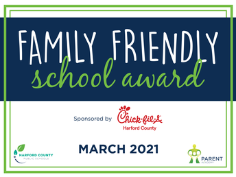 Coming Soon! Family Friendly School Award Program