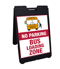 Please Do Not Park/Idle in the Bus Zone