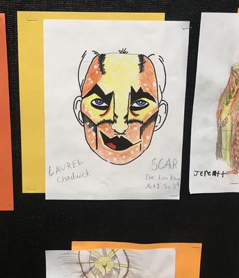 8th Grade Theatrical Make Up Design