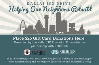 EDUCATION FOUNDATION HOSTS GIFT CARD DRIVE FOR TORNADO VICTIMS NOV. 4-8
