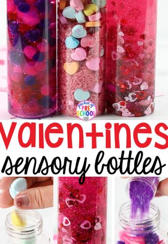 Valentines Day Sensory Bottle