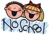 No School Monday, 9/30