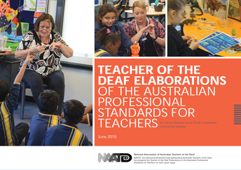 Teacher of the Deaf Elaborations of the Australian Professional Standards for Teachers