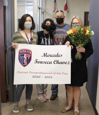 TJH Clerical Paraprofessional of the Year - Mercedes Fonseca-Chavez