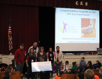 Clairemont receives a DEF Arts Infusion Grant