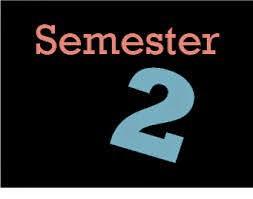 2nd Semester Schedules