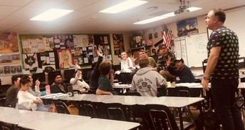 AP Lit. students conduct Socratic Seminar, tackling a variety of relevant questions and issues from multiple perspectives!