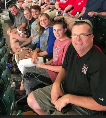 Band Takes in Braves Game