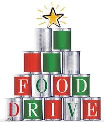 Food Drive- Dec. 3-14