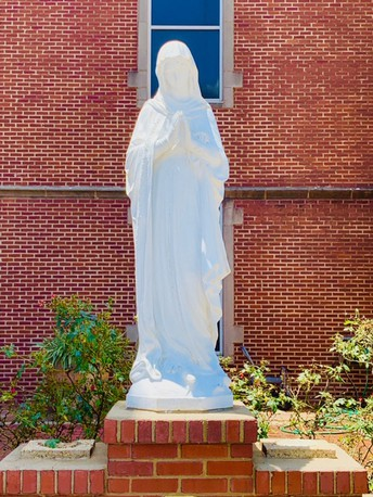 MAY CROWNING AND CONSECRATION OF MARY TO TAKE PLACE TOMORROW