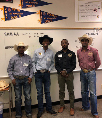 RODEO BULL RIDERS VISITING OUR STUDENTS
