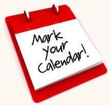 Important January Dates - Mark Your Calendar