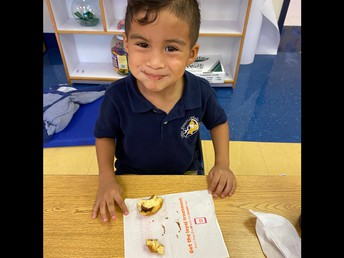Thank you Mr. Pope!  We loved our donuts!