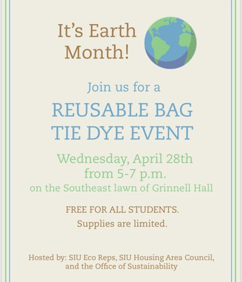 Reusable Bag Tie Dye Event