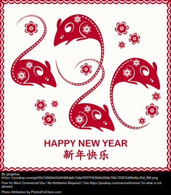 Celebrate Chinese New Year With Us - January 23rd at 8:10am