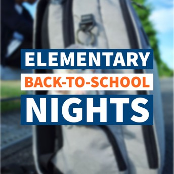 elementary back-to-school nights graphic