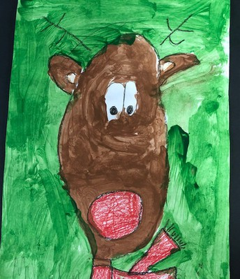 Reindeer 1st Grade