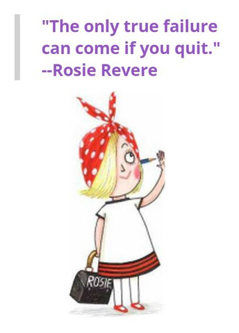 Rosie Revere Engineer Giveaway Winners